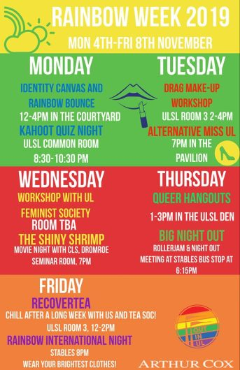 Rainbow Week poster